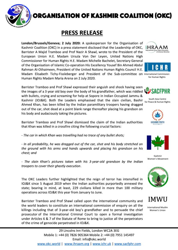 Press Release 02 July 2020