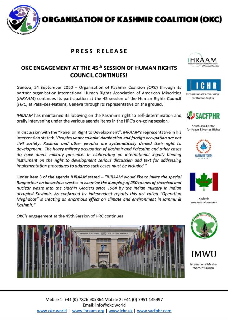 Press Release 24 September 2020